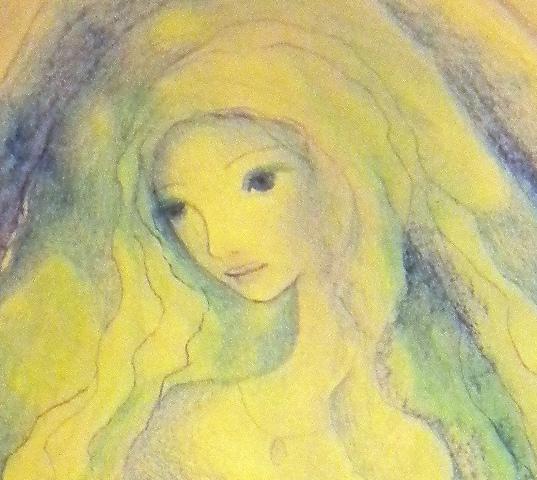 Santa Fe's Mother - Sketch - Detail