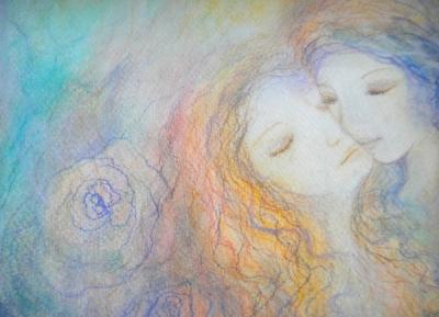 Night's kiss - detail